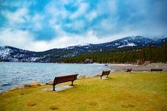 Inverno del Lake Tahoe Fotografia Stock Libera da Diritti