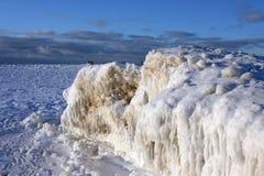 Inverno del Michigan Immagini Stock