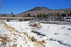 Inverno della Nuova Inghilterra Fotografia Stock