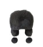 Inverno della protezione della pelliccia dei earflaps di Wooman immagini stock