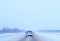Inverno della strada Immagine Stock