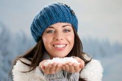 Inverno despreocupado Imagens de Stock