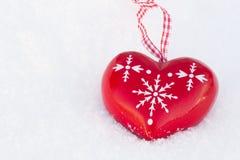 Inverno di amore Fotografia Stock