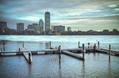 Inverno di Boston Fotografie Stock