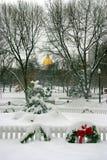 Inverno di Boston Immagini Stock