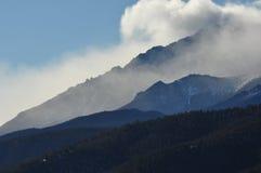 Inverno di Colorado Fotografia Stock