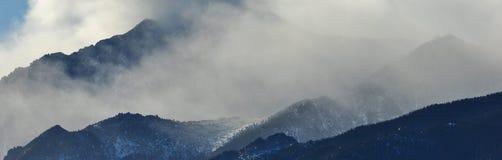 Inverno 3 di Colorado Fotografie Stock