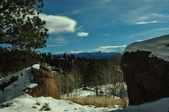 Inverno 2 di Colorado Fotografie Stock Libere da Diritti
