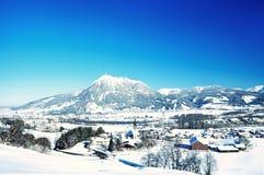 Inverno di Oberallgau Fotografia Stock Libera da Diritti