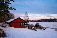 Inverno di Stoccolma immagini stock libere da diritti