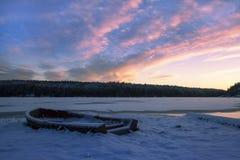 Inverno di Stoccolma immagini stock