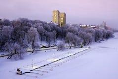 Inverno di Stoccolma. Fotografia Stock Libera da Diritti