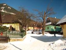 Inverno di VlkolÃnec Immagini Stock