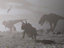 inverno do impacto - 3D rendem Imagem de Stock Royalty Free