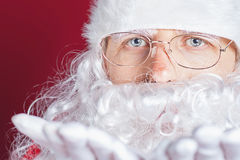 inverno do Natal com Santa Claus que funde o brilho mágico Imagem de Stock Royalty Free