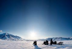 Inverno do norte Landsacpe imagem de stock royalty free