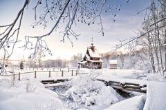 Inverno do russo Imagens de Stock Royalty Free