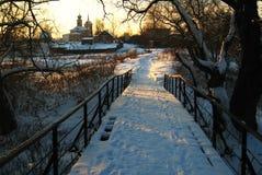 Inverno do russo Imagem de Stock