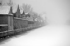Inverno em beijing Imagens de Stock Royalty Free