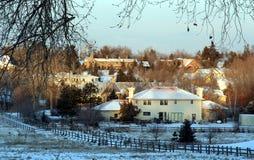 Inverno em Colorado-4 Foto de Stock Royalty Free