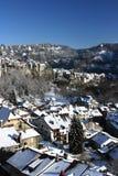 Inverno em Fribourg Imagem de Stock