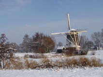 Inverno em Holland Imagens de Stock Royalty Free