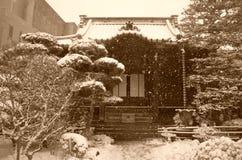 inverno em Japão Fotografia de Stock