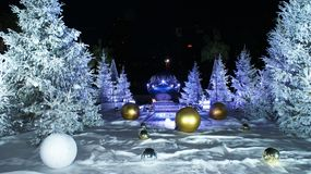 inverno em Mônaco, Monte - Carlo Imagens de Stock
