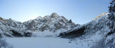 Inverno em montanhas de Tatra Fotografia de Stock Royalty Free