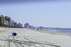 inverno em Myrtle Beach 2 Imagem de Stock