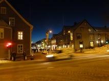 Inverno em Noruega Imagens de Stock
