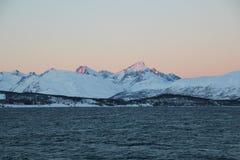 Inverno em Noruega Imagem de Stock