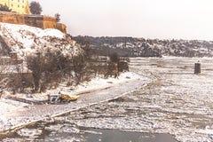 inverno em Novi Sad fotos de stock royalty free