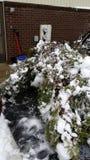 inverno em Pensilvânia foto de stock