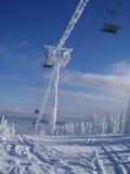 Inverno em Sheregeh Imagens de Stock Royalty Free
