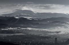inverno eslovaco Fotos de Stock Royalty Free