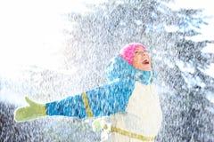 Inverno felice Fotografia Stock Libera da Diritti