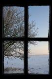 Inverno fora Imagem de Stock Royalty Free