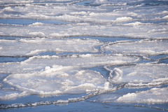 Inverno gelado Fotografia de Stock