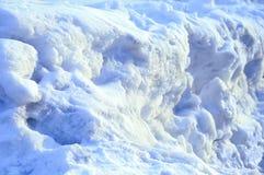 Inverno Gelo ártico da neve fragmento fotografia de stock royalty free