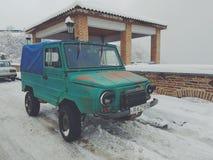 inverno in Georgia fotografia stock