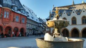 Inverno in Goslar Immagini Stock