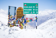 inverno in Himalaya Fotografie Stock