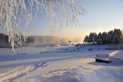 Inverno impressionabile fotografie stock