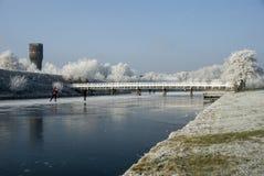 Inverno landscape4 Fotografie Stock Libere da Diritti