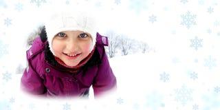 Inverno magico Fotografie Stock