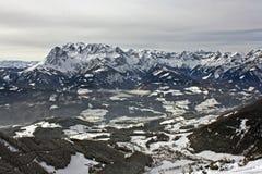 Inverno in montagna Immagini Stock Libere da Diritti