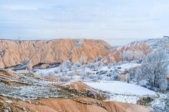 Inverno in montagne fotografia stock libera da diritti