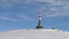 Inverno in montagne di Bucegi Fotografie Stock Libere da Diritti