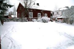 Inverno na área rural foto de stock royalty free